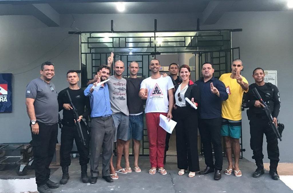 Brigadistas de Alter do Chão são liberados, advogados pedem justiça
